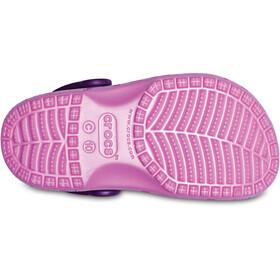 Crocs Classic Graphic Sandalen Kinderen roze/bont